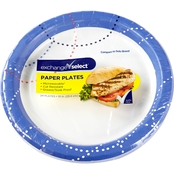 Exchange Select 10 in. Decorated Paper Plates 24 Pk.