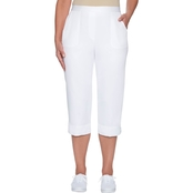 Alfred Dunner Crop Pants