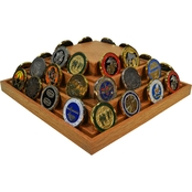 DomEx Hardwoods Coin Display/Spinner