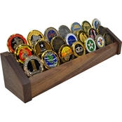DomEx Hardwoods 3 Tier Walnut Coin Rack