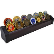 DomEx Hardwoods 2 Tier Cherry Coin Rack