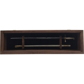 DomEx Hardwoods Saber Display with Glass Door (Cadet) Walnut