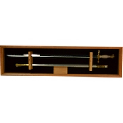 DomEx Hardwoods Saber Display/Open Wall (Cadet) Oak