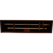 DomEx Hardwoods Saber Display/Open Wall (Cadet) Cherry