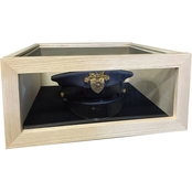 DomEx Hardwoods USCG Chief Hat/Cover Box Kit