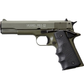 Chiappa Firearms 1911 22 LR 5 in. Barrel 10 Rds Pistol Black