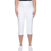 Alfred Dunner Clam Digger Crop Pants
