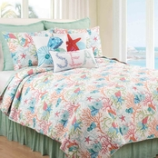 C&F Home Caribbean Splash Quilt Set