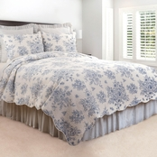 C&F Home Nelly Blue Quilt Set