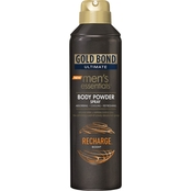 Gold Bond Ultimate Men's Essential Body Powder Spray Recharge Scent