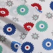 My World Printed Gears Sheet Set