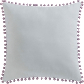 Laura Hart Kids Unicorn Princess Pom Pom Pillow