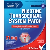 Exchange Select Nicotine Transdermal System Patch Step 1, 14 Patches