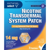 Exchange Select Nicotine Transdermal System Patch Step 2, 7 Patches