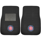 Fan Mats MLB Embroidered 18 x 27 in. 2 Pc. Car Mat Set