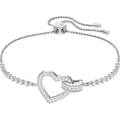 Swarovski Lovely Rhodium Bracelet