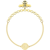 Swarovski Remix Collection Goldtone Bee Strands