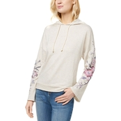 INC International Concepts Embroidered Sleeve Hoodie