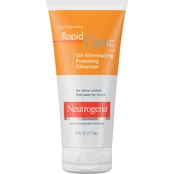 Neutrogena Rapid Clear Oil-Eliminating Foaming Cleanser, 6 oz.