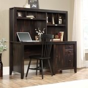 Sauder Dakota Pass Desk with Hutch