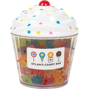 Dylan's Candy Bar Cupcake Filled with Gummy Bears