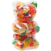 Dylan's Candy Bar Clear Gummy Bear Filled With Gummy Bears