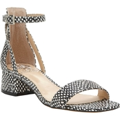 Vince Camuto Shetana Two Piece Block Heel Sandals