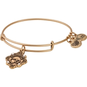 Alex and Ani Because I Love You Daughter Charm Bangle Bracelet