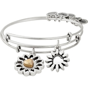 Alex and Ani 2 pc. You are My Heart Charm Bangle Set
