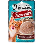 Hartz Delectables Chowder Lickable Cat Treat