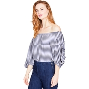 Rachel Roy Ruffle Sleeve Top