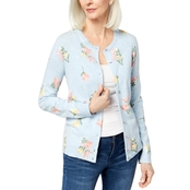 Karen Scott Printed Cardigan