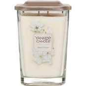 Yankee Candle Elevation Sheer Linen Large 2 Wick Square Jar Candle