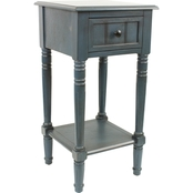 Decor Therapy Simplify 1 Drawer End Table