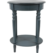 Decor Therapy Simplify Oval Accent Table