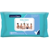 Exchange Select Baby Wipes Scented Lid 72 ct.