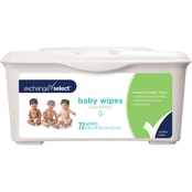 Exchange Select Baby Wipes Unscented Tub 72 ct.