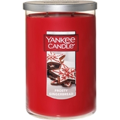 Yankee Candle Frosty Gingerbread 2-Wick Tumbler Candle