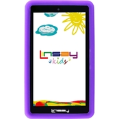 Linsay Kids Funny 7 in. HD Quad Core 1GB RAM 8GB Tablet and Defender Case Bundle