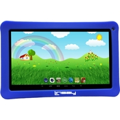 Linsay Kids Funny 10.1 in. HD Quad Core 1GB 16GB Tablet and Defender Case Bundle