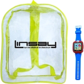 Linsay S 5WCL Kids Smart Watch and Bag Pack