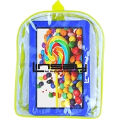 Linsay Kids Funny 10.1 in. HD Quad Core 1GB 16GB Case and Bag Pack Tablet Bundle