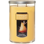 Yankee Candle Poached Pear Flambe Large Two Wick Tumbler 20 oz.