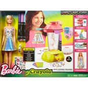 Barbie Crayola Confetti Frenzi Skirt Studio