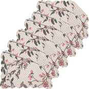 C & F Home 13 x 19 in. Reversible Placemat 6 Pk.