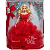 2018 Holiday Barbie Doll Blonde