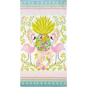 Dena Home Flamingo Pair Beach Towel