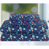 Beatrice Space Adventure Sheet Set