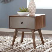 Signature Design by Ashley Lynnifer Rectangular End Table