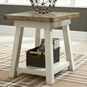 Signature Design by Ashley Stownbranner Rectangular End Table